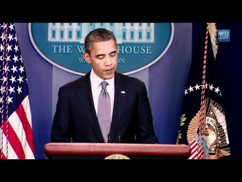 President Obama Confirms The Ending Of The War In Iraq (White House)