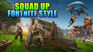 Squad Up Fortnite - The Ultimate Clutch