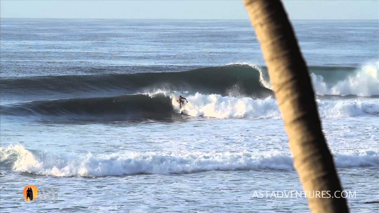Surfing Punta Roca in El Salvador - Video by ASTADVENTURES