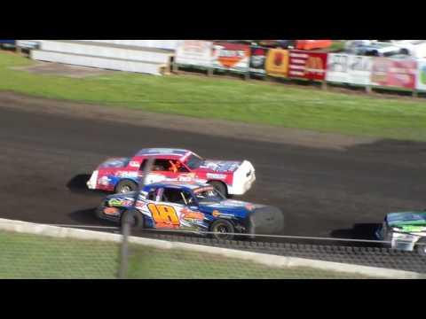Hobby Stock Heat 1 @ Hamilton County Speedway 07/01/17