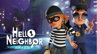 POLICIA e LADRÃO do Neighbor - Hello Neighbor Hide and Seek