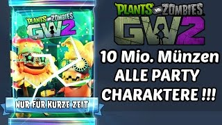 Plants Vs Zombies Garden Warfare 2 Sticker Pack Opening 10 Millionen Münzen Deutsch