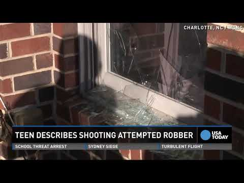 14 Year Old Says He Killed Intruder To Protect Grandma