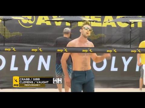 2017 AVP Pro BeachVolleyball-Taylor Crabb/Jake Gibb vs.Branden Clemens/Ben Vaught-Huntington Beach