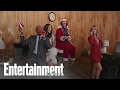 Office Christmas Party: Jennifer Aniston, Olivia Munn & More   Cover Shoot   Entertainment Weekly