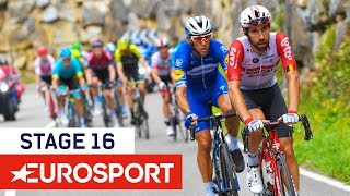Vuelta a España 2019 | Stage 16 Highlights | Cycling | Eurosport