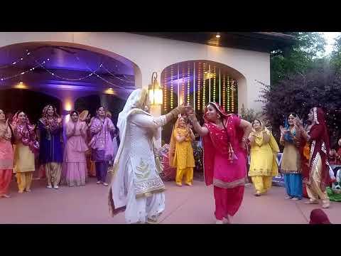 Gidda dance performance