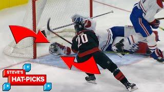 NHL Plays Of The Week: Sebastian AhNOOOOOOOOO!   Steve's Hat-Picks