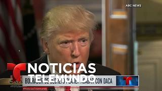 Donald Trump proyectaría eliminar programa DACA | Noticiero | Noticias Telemundo