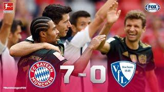 Bundesliga | BAYERN 70 BOCHUM | ¡GOLIZA DEL MÜNCHEN!
