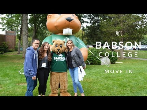 College Move In 2017 | Babson College