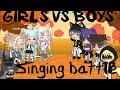 Girls and boys singing battle/Gachalife