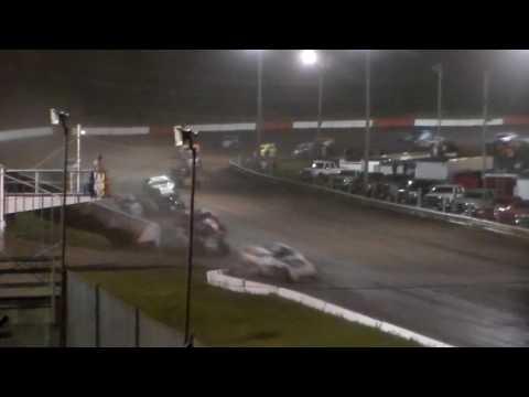 Harris Clash Modified Amain @ Hamilton County Speedway 08/08/17