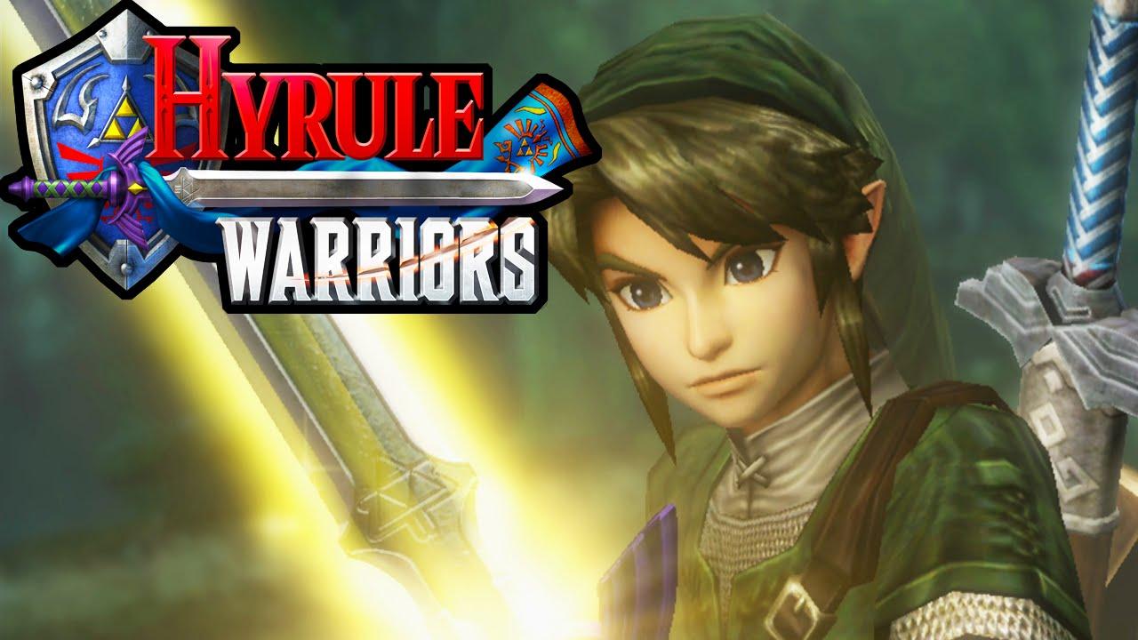 Hyrule Warriors 2 Player Co Op Amiibo Spinner Master Sword Zelda Hd Gameplay Walkthrough Wii U Youtube