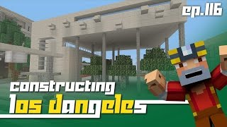 Minecraft Xbox 360: Constructing Los Dangeles - Episode 116! (New Building!)