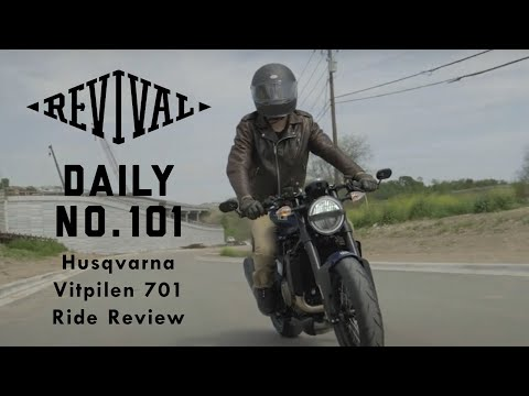 Husqvarna Vitpilen 701 goes for a ride and review // Revival Cycles Daily 101