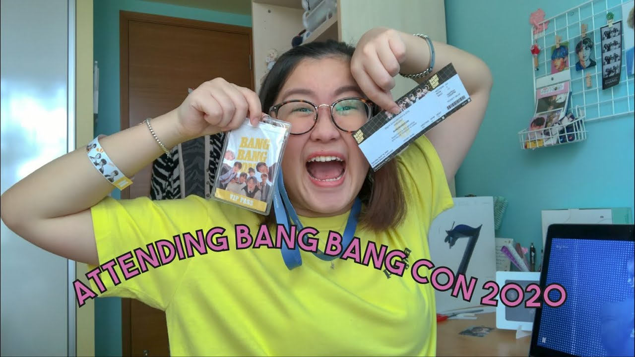 GOING TO BANG BANG CON 2020