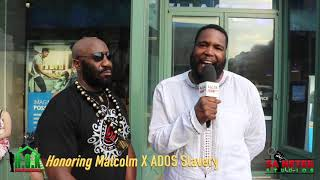 Dr. Umar Johnson Honoring Malcolm X: And Talk About What
