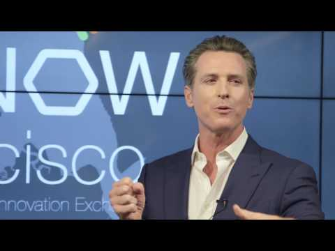 Gavin Newsom on California's Progressive Leadership: The Future Happens Here First
