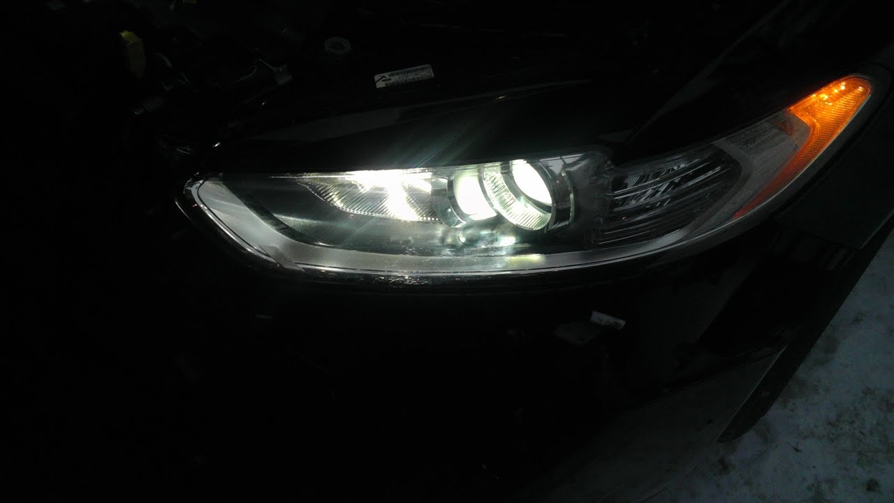 2013 Ford Fusion Hybrid HID Install -- Bumper Removal ...
