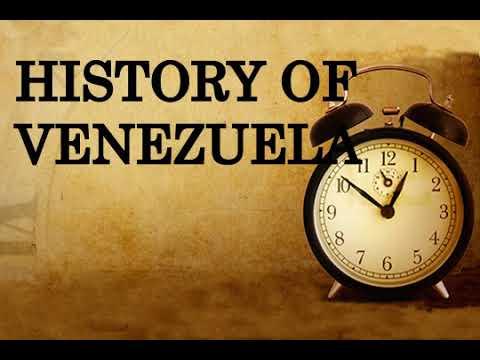 History of Venezuela