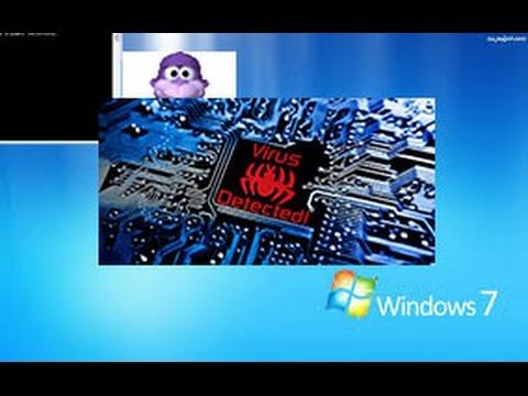 Niszczenie Windows 7 za pomocą wirusów!