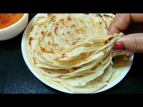 जाने कैसे बनाए लच्छा पराठे मे ढेर सारे लच्छे  Restaurant Style Trick-Lachha Paratha   Pheni Paratha.