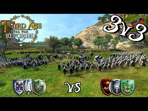 --BATTLE OF WITS-- Third Age: Reforged 3v3 Team Battle