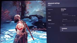 GOD OF WAR TWEAKING THE MOTION ON SONY 900 AND 930E