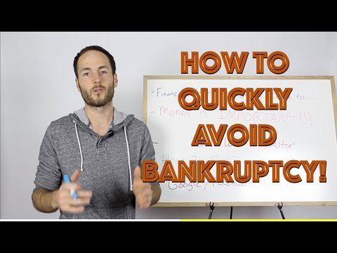 How To QUICKLY Avoid Bankruptcy and Credit Damage | Kitchener-Waterloo