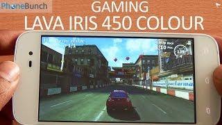 Lava Iris 450 Colour Gaming Review