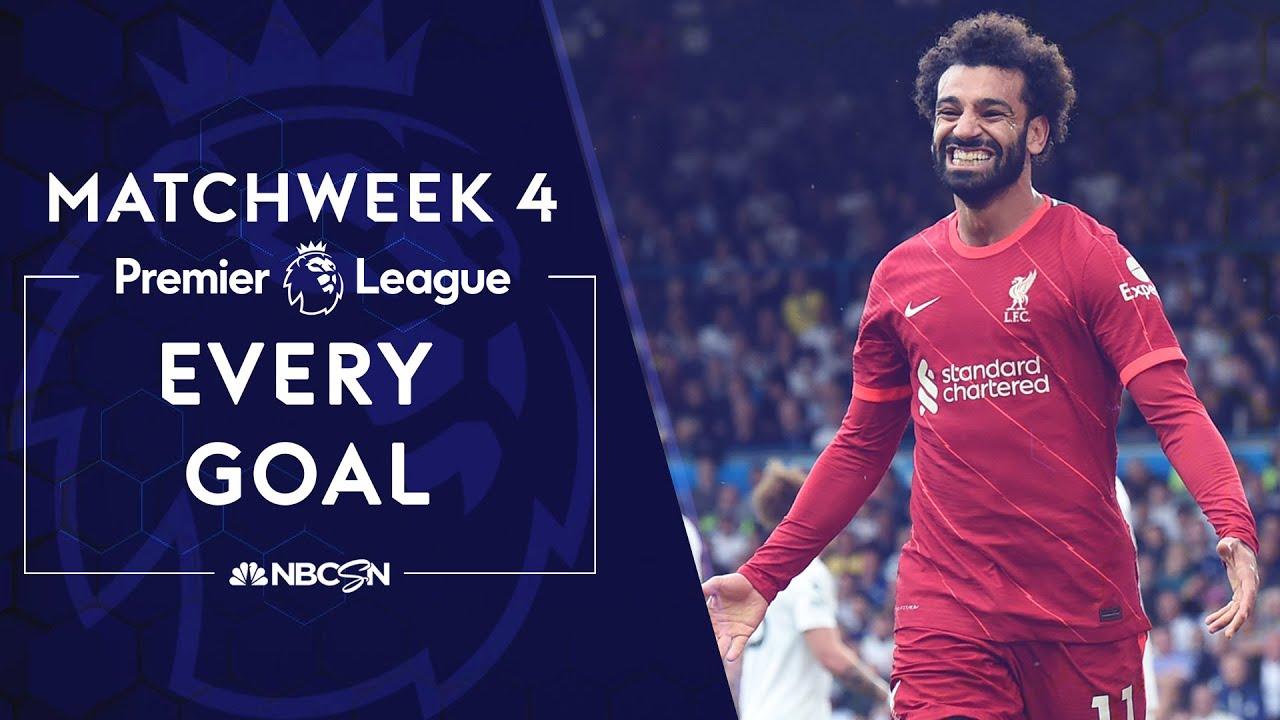 Download Every Premier League goal from Matchweek 4   Premier League   NBC Sports