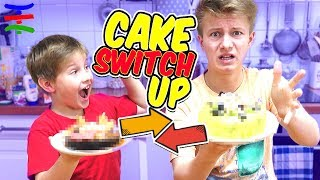 CAKE SWITCH UP - Ekel Kuchen Challenge 😁 TipTapTube Family 👨👩👦👦