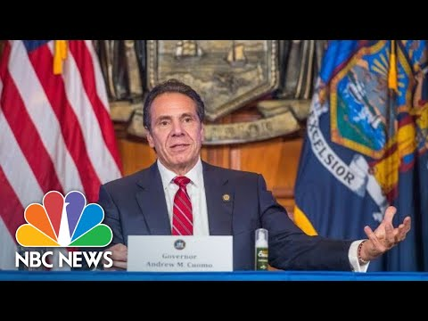 New York Gov. Andrew Cuomo Holds Briefing On Covid | NBC News