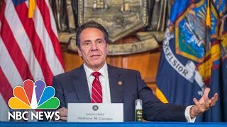 Live: New York Gov. Andrew Cuomo Holds Briefing On Covid | NBC News