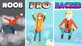 NOOB vs PRO vs HACKER – Flip Tumbling (iOS)