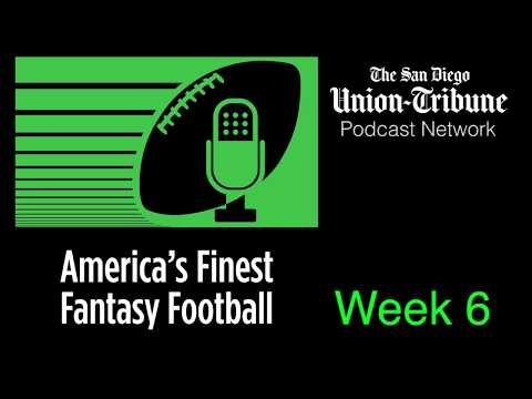 America's Finest Fantasy Football : Week 6 | San Diego Union-Tribune