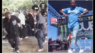 90's Crip Walk vs 2019 Crip Walk