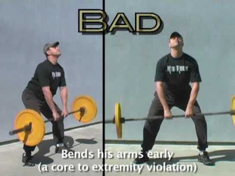 Sumo Deadlift High Pull Courtesy Crossfit Inc Youtube
