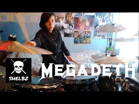 Megadeth - Holy Wars... The Punishment Due - Drum Cover By Shelbz Drummer Evans