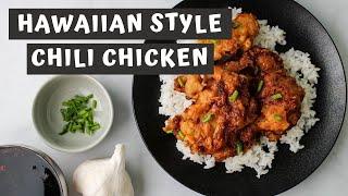 Hawaiian Style CHILI CHICKEN Recipe  Keeping It Relle