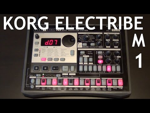 KORG ELECTRIBE EM-1  ♫ Music Production Station