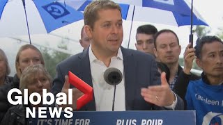 Canada Election: Andrew Scheer attends campaign rally in Vancouver
