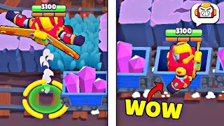 500 IQ SURGE vs *TRAIN*! Brawl Stars Wins & Fails #178
