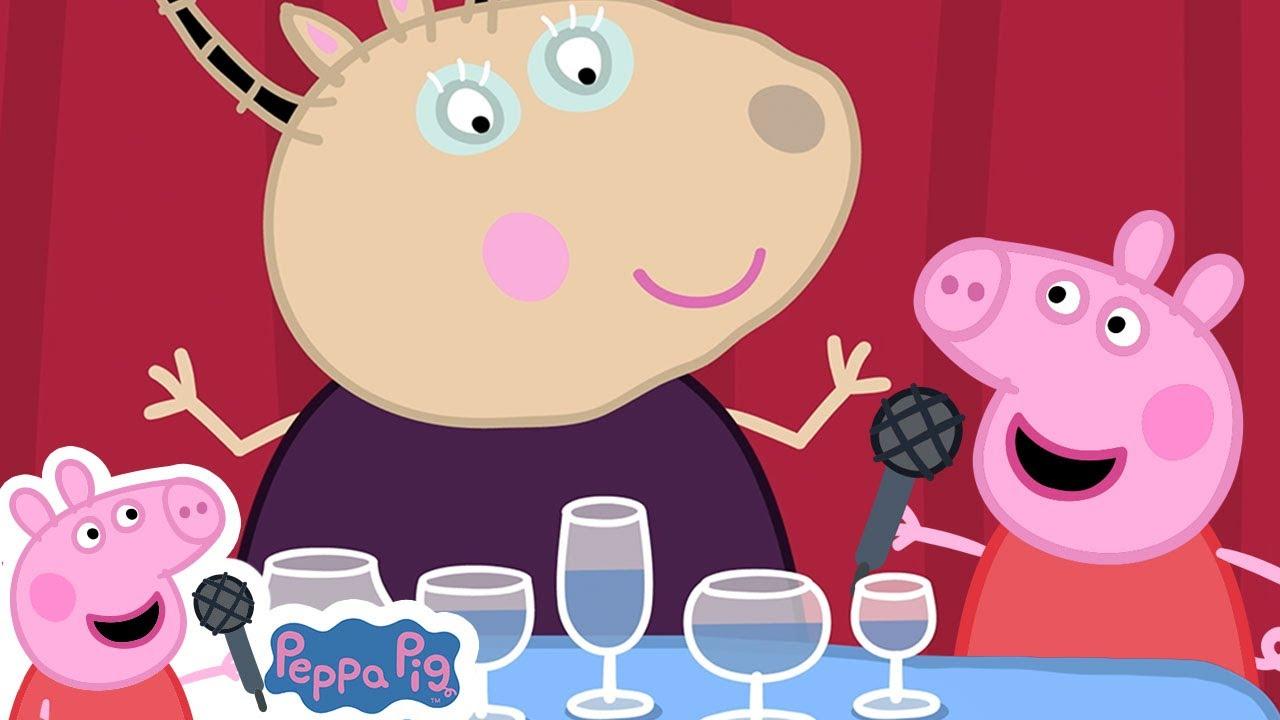 Class of Madame Gazelle | Peppa Pig Songs | Peppa Pig Nursery Rhymes & Kids Songs