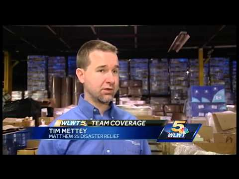 Matthew 25 Ministries to ship supplies to liberia to aid Ebola victims