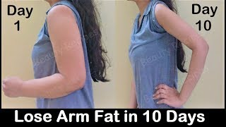 Lose Arm Fat in 1 WEEK with Simple Exercises - Get rid of Flabby Arms & tone Sagging arms