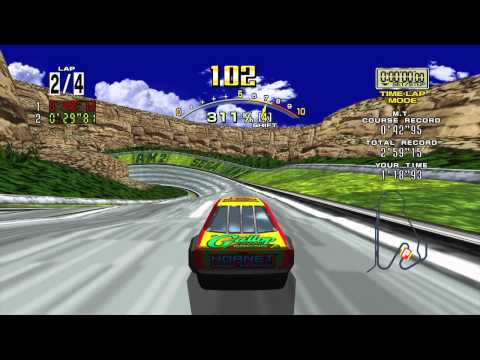 "Daytona USA - Advanced - 2'58""60"