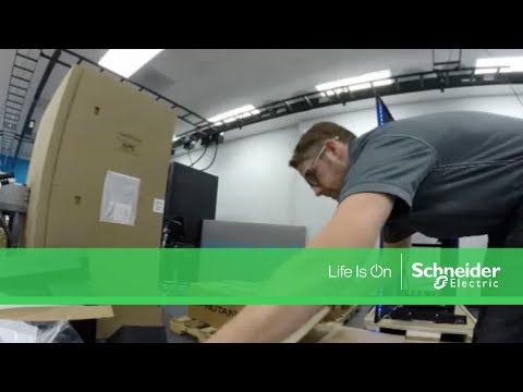 APC by Schneider Electric Micro Data Center Xpress Time Lapse Demo