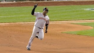 2010 NLCS Gm 6 Uribe S Homer Puts The Giants Ahead
